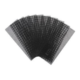 Сетка абразивная TUNDRA, водостойкая, корунд, 115 х 280 мм, Р120, 10 шт. Ош