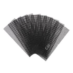 Сетка абразивная TUNDRA, корунд, 115 х 280 мм, Р60, 10 шт. Ош