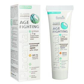 Увлажняющий дневной крем для лица Floralis Placental Age-Fighting, 50 г