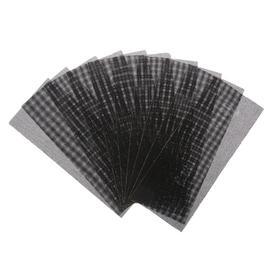 Сетка абразивная TUNDRA, корунд, 115 х 280 мм, Р180, 10 шт. Ош