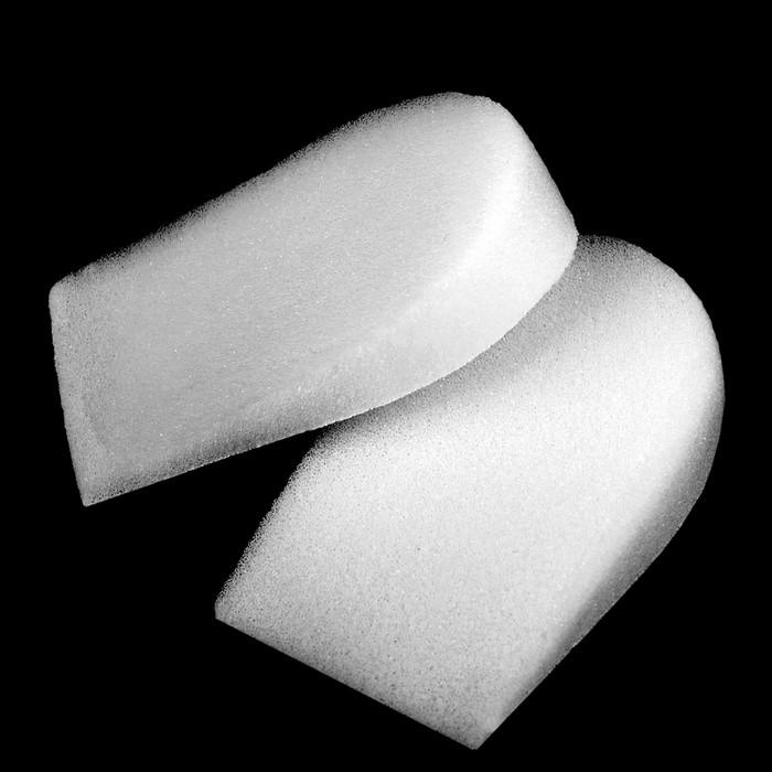 Подпяточники-платформа для обуви, пара, цвет белый