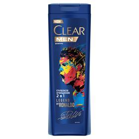 Шампунь для волос Clear men 2 в 1 «Глубокое очищение», с углём и мятой, 400 мл