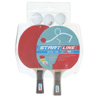 Набор для настольного тенниса, 2 ракетки Level 100, 3 мяча Club Select