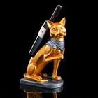 """Сувенир-подставка для бутылки """"Египетский кот"""" 38 см"""