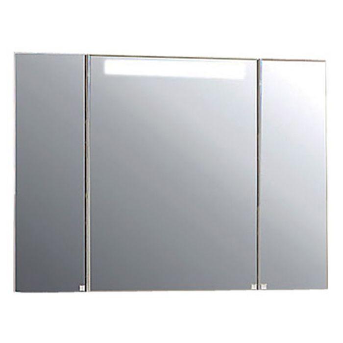 Зеркало со шкафом «Мадрид 100», со светильником