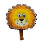 """Шар фольгированный 10"""" """"Голова льва"""" для палочки, с клапаном, мини"""