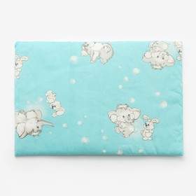 Подушка, размер 40х60 см, цвет голубой, принт МИКС (арт. 224) Ош