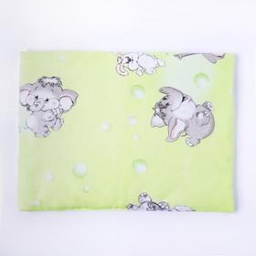 Подушка, размер 30*40 см, цвет зелёный, набивка МИКС 214 Ош