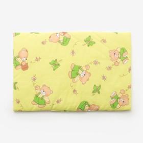 Подушка, размер 40*60 см, цвет зелёный, набивка МИКС 224