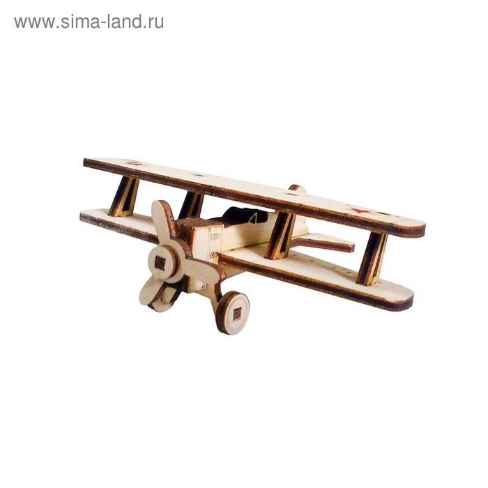 Деревянный конструктор «Самолет И-15»