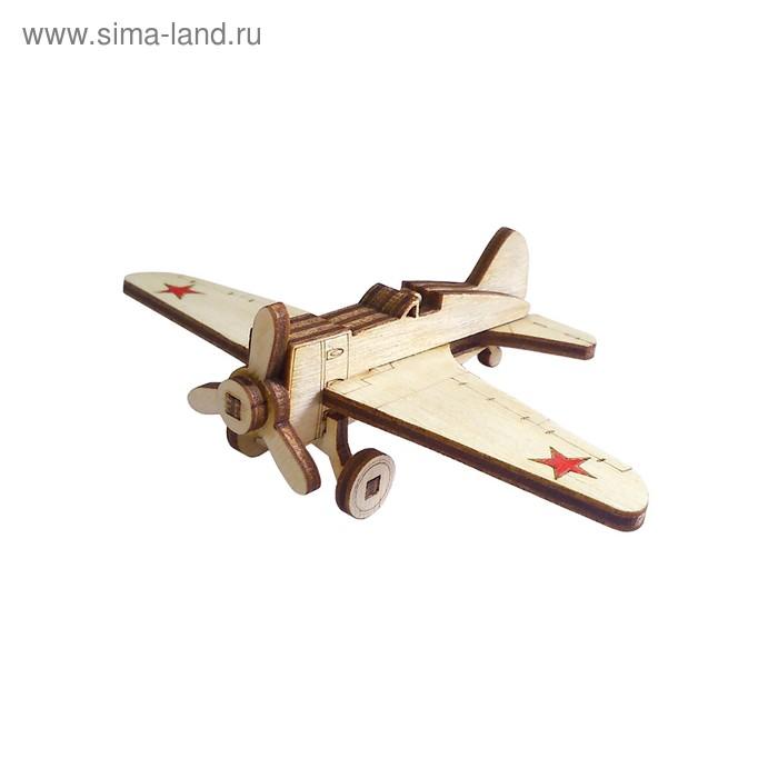 Деревянный конструктор «Самолет И-16»