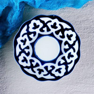 Тарелка круглая «Пахта», 12.5 см, белая - Фото 1