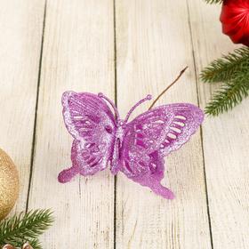 Декор 'Перелив' бабочка двойная 14*20 см, микс Ош