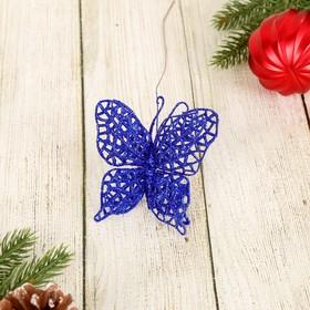 Декор 'Перелив' бабочка-сетка 7*20 см, микс Ош