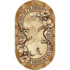 Ковер овальный «Золушка», размер 60х110 см Ош