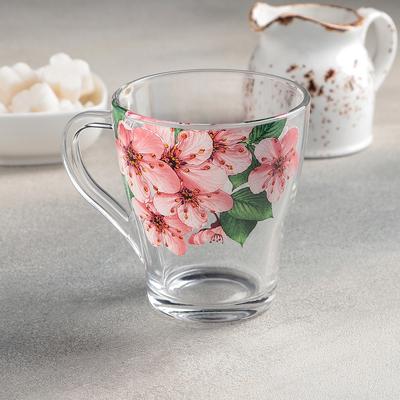 Кружка чайная «Живая природа. Сакура», 250 мл - Фото 1