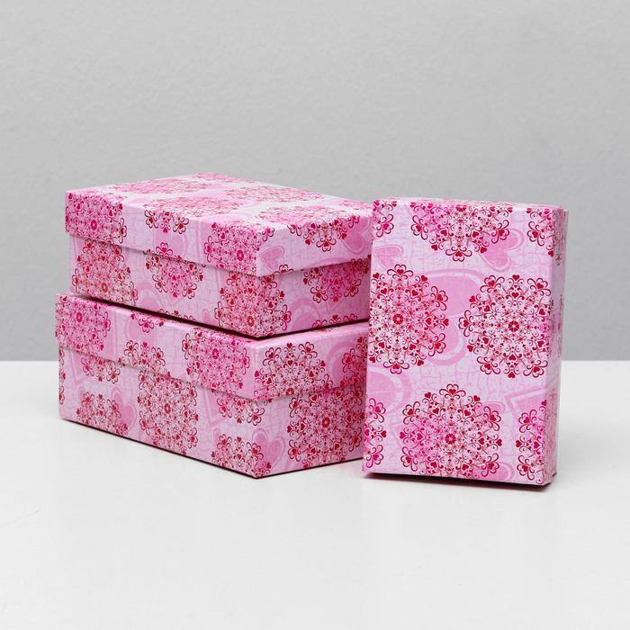 Набор коробок 3 в 1 Чуткость, 19 х 12 х 7,5 - 15 х 10 х 5 см