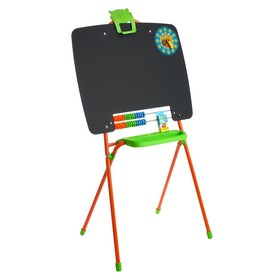 Мольберт односторонний, размер 355 × 530 × 965 мм, цвет оранжевый Ош