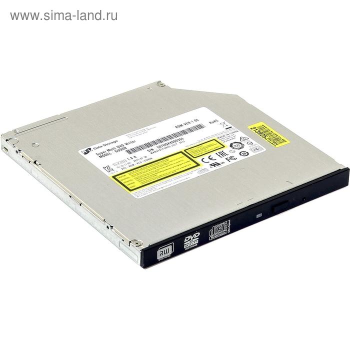 Привод DVD-RW LG GUB0N черный SATA ultra slim внутренний oem