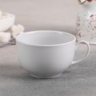 """Чашка чайная 210 мл """"Янтарь"""", цвет белый"""