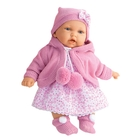 """Кукла """"Азалия"""" в ярко-розовом, озвученная"""