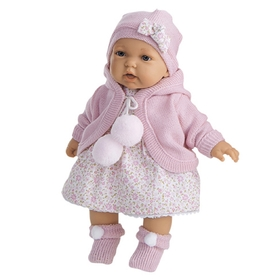 "Кукла ""Азалия"" в розовом, озвученная"