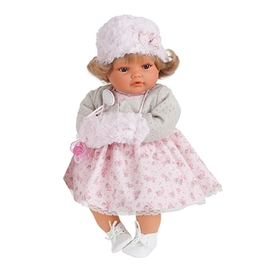 """Кукла """"Белла"""" в шапочке и муфте"""