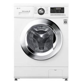 Стиральная машина LG F 1096 ND3, класс А+, 6 кг, 1000 об/мин, 13 программ, белая