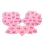 Мини-коврик для ванны «Поцелуй», 8?12 см, цвет МИКС