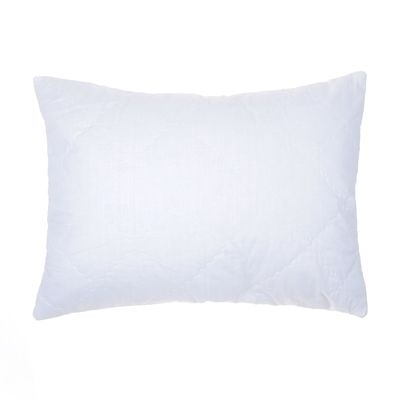 Чехол на подушку сменный стёганый на молнии, размер 50х70 см, суперсофт