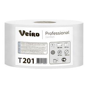 Туалетная бумага для диспенсера Veiro Professional Comfort в средних рулонах, 200 метров