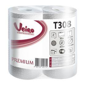 Туалетная бумага Veiro Professional Premium, 25 м (200 листов)