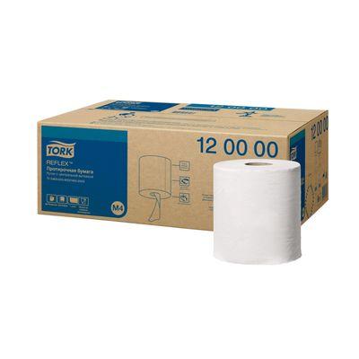 Протирочная бумага Tork Reflex в рулоне с ЦВ (съемная втулка) (M4), 771 лист - Фото 1