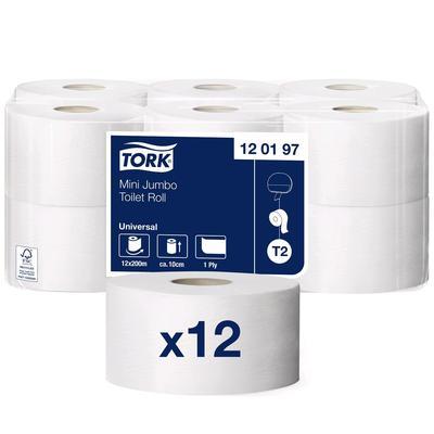 Туалетная бумага для диспенсера Tork в мини рулонах (T2) - Фото 1
