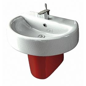 Полупьедестал SANITA LUXE «Best Color Red», цвет красный Ош