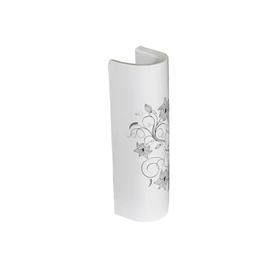 Пьедестал SANITA LUXE «Art Flora», цвет белый Ош