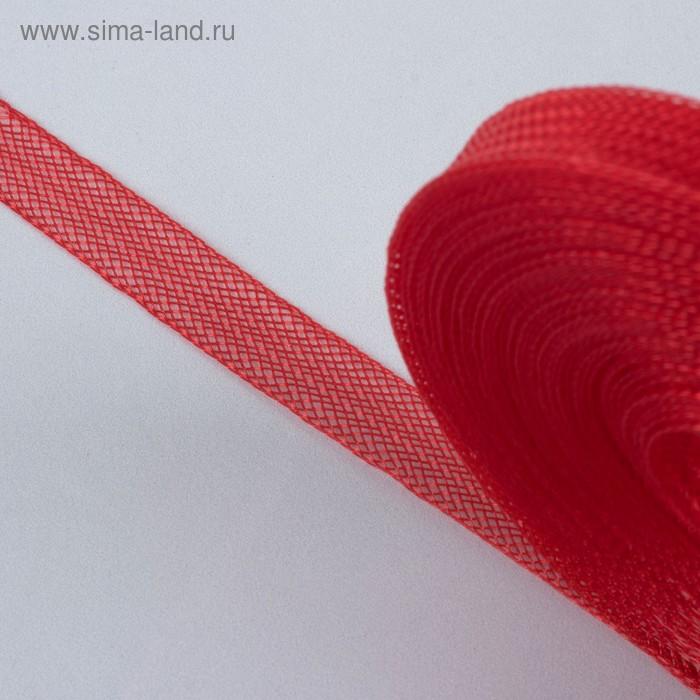 Регилин плоский, 10мм, 45±1м, цвет красный