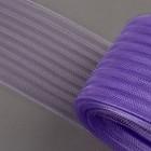 Регилин плоский, гофрированный, 70мм, 20±1м, цвет фиолетовый