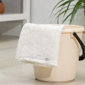 Тряпка для мытья полов, плотность 200 г/м2, оверлок Ош