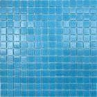 Mозаика стеклянная Elada Mosaic A32, тёмно-голубая, 327х327х4 мм