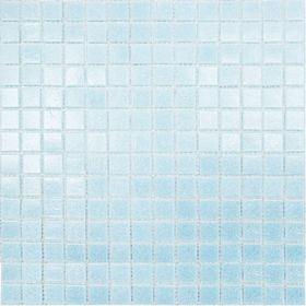 Mозаика стеклянная Elada Mosaic A33, голубая, 327х327х4 мм