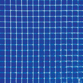 Mозаика стеклянная Elada Mosaic A36, синяя, 327х327х4 мм