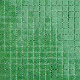 Mозаика стеклянная Elada Mosaic A41, тёмно-зелёная, 327х327х4 мм Ош