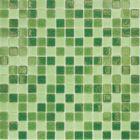 Mозаика стеклянная Elada Mosaic MC109, зелёная, 327х327х4 мм