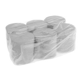 Туалетная бумага «Макс-Экономъ», без втулки, 1 слой, 6 рулонов