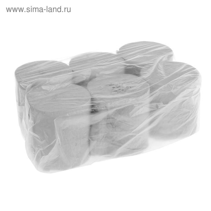 Туалетная бумага «Макс-Экономъ», без втулки, 6 шт.