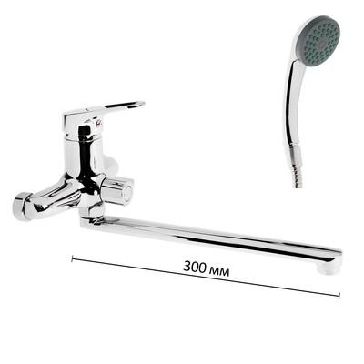 Смеситель для ванны Accoona А87150, однорычажный, хром - Фото 1