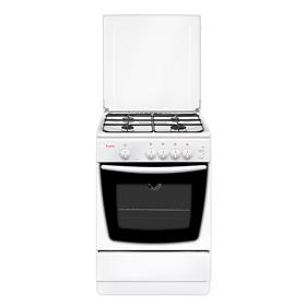 Плита газовая Gefest 1200-С6, 4 конфорки, 63 л, газовая духовка, белая
