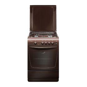 Плита газовая Gefest 1200-С6 К19, 4 конфорки, 63 л, газовая духовка, коричневая