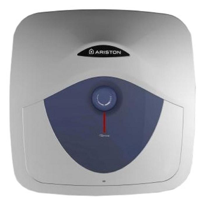 Водонагреватель Ariston ABS BLU EVO RS 15 U, накопительный, 1.2 кВт, 15 л, серебристый